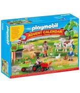 Playmobil - Calendrier de l'Avent - Ferme