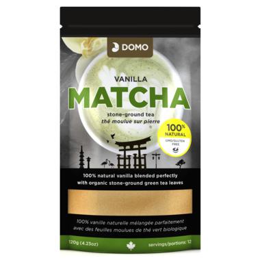 Domo Vanilla Matcha Stone Ground Tea