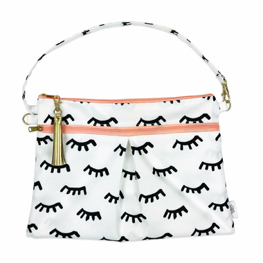 Logan and Lenora Waterproof Wristlet Clutch Lashes