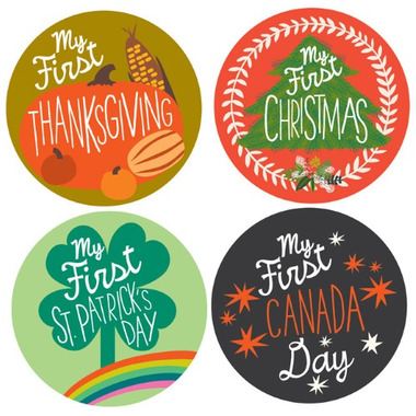 Lucy Darling My 1st Holiday Stickers