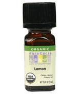 Aura Cacia Organic Lemon Essential Oil