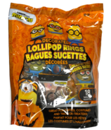 Halloween Minions Decorated Lollipop Rings