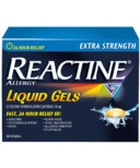Reactine Extra Strength 25 Liquid Gels