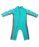 Stonz Sun Suit Stonz Print Turquoise