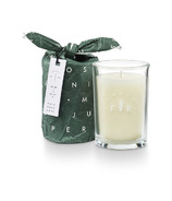 Illume Juniper Moss Frost & Fir Bundled Glass Candle