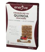 Enerjive Quinoa Crackers Garlic Cayenne