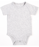 petit lem Heather Grey Onesie 3M-18M