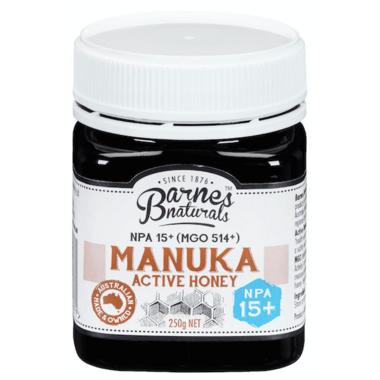 Barnes Naturals Manuka Honey NPA 15 +