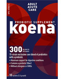 koena Probiotics Adult Acute Care
