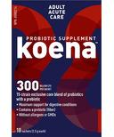 koena Probiotics Adult Acute Care