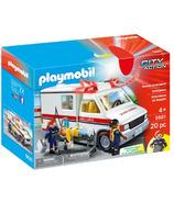 Ambulance de secours Playmobil