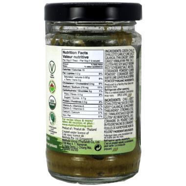 Mekhala Organic Thai Green Curry Paste