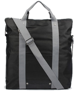 Buffalo David Bitton Jules Fold Over Tote in Black & Grey