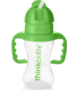 Thinkbaby Thinkster Straw Bottle Green