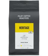 Pilot Coffee Roasters Heritage Whole Bean
