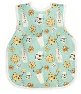 BapronBaby Preschool Bib Cookies & Milk