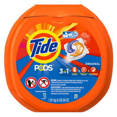 Tide PODS Laundry Detergent Original Scent