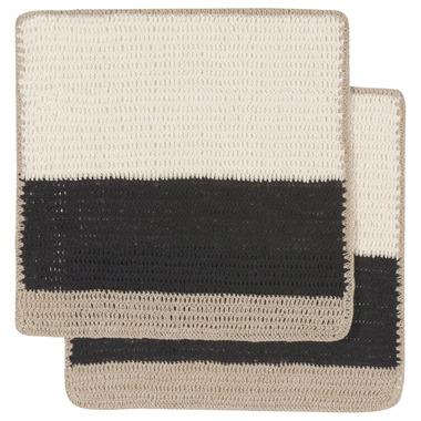 Danica Studio Dish Cloth Crochet Sasha Black