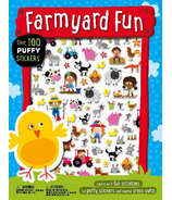 Make Believe Ideas Farmyard Fun Puffy Sticker Activity Book