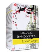 Uncle Lee's Organic Bamboo Lemon Ginger Tea