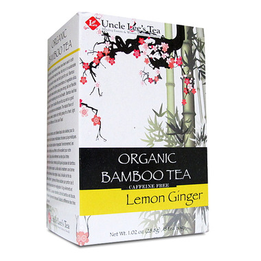 Uncle Lee\'s Organic Bamboo Lemon Ginger Tea