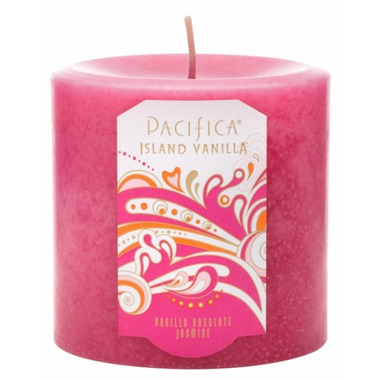 Pacifica Pillar Candle Island Vanilla