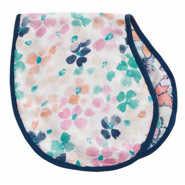 aden + anais Silky Soft Muslin Burpy Bib Festival Mosaic