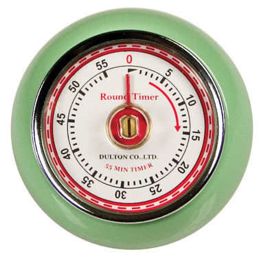 1950s Mechanical Kitchen Timer with Magnetic Back