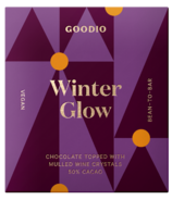Goodio Winter Glow Chocolate with Mulled Wine Crystals
