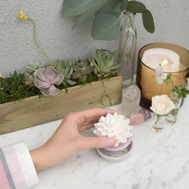 Ellia Porcelain Calm Waters Essential Oil Diffuser