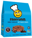 FreeYumm Double Chocolate Cookies