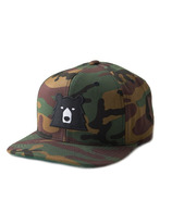 North Standard Trading Post Snapback Camo + Black Bear