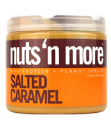 Nuts n More Salted Caramel Peanut Butter High Protein Spread