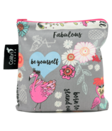 Colibri Reusable Snack Bag Large Fab