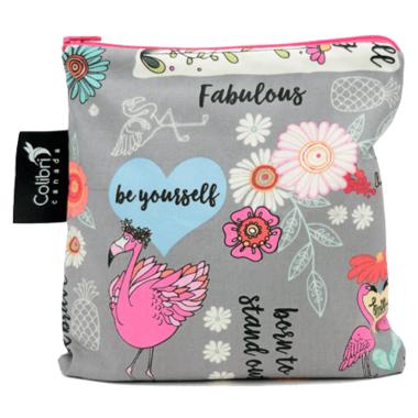 Colibri Reusable Snack Bag Large Fab