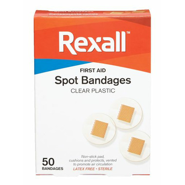 Rexall Clear Spots Round Bandages 50\'S