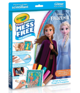 Crayola Disney Frozen ll Color Wonder Mess-Free Glitter Paper & Markers Kit