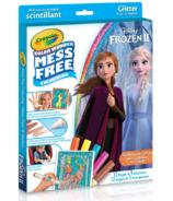 Crayola Disney Frozen ll Color Wonder Mess-Free Glitter Paper & Markers Kit