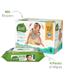 Seventh Generation Size 6 Diapers & Wipes Bundle