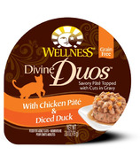 Wellness Divine Duos Chicken Pate & Diced Duck