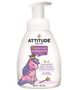 ATTITUDE Little Ones 3-In-1 Shampoo, Body Wash & Conditioner Wild Berries