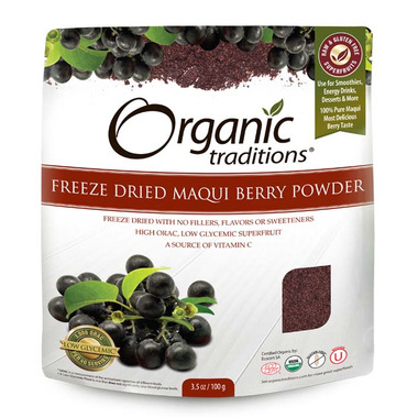 Organic Traditions Maqui Berry Powder