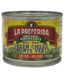La Preferida Organic Diced Green Chiles Mild