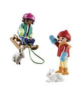 Playmobil Special Plus Enfants avec Traîneau