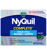 Vicks NyQuil COMPLETE Cough, Cold & Flu Relief