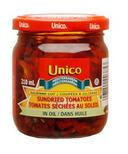 Unico Julienne Cut Sundried Tomatoes in Oil
