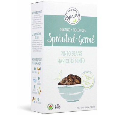 Second Spring Organic Sprouted Pinto Beans