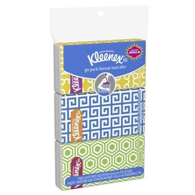 Kleenex Everyday Facial Tissue Pocket Pack