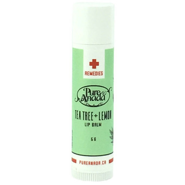 Pure Anada Tea Tree And Lemon Lip Balm