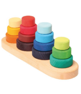 Grimm's Stacking Fabuto Tower on Pegs (en anglais)